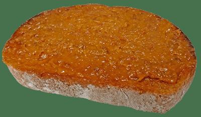 tostada zurrapa roja jerecitos