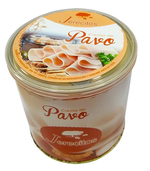 Crema de pavo Jerecitos lata 700g